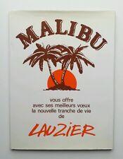 BD - Canto de la vida 5 / 1986 / LAUZIER / DARGAUD / PUBLICITARIO MALIBU