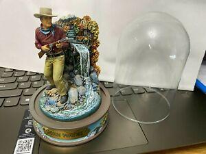 "Franklin Mint John Wayne ""North to Alaska"" Domed Figurine--Numbered..........hcj"