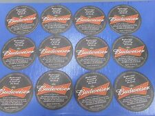 Lot of 12 Budweiser King of Beers Coasters NEW ~ Man Cave