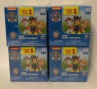 Nickelodeon Paw Patrol Mini Figures Blind Box Series 1 Lot of 4, NEW
