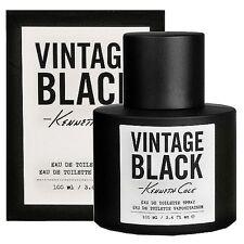 Kenneth Cole Vintage Black Mens Eau De Toilette Spray 3.40 oz (Pack of 2)