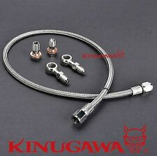 Turbo Oil Feed Line For Nissan S13 S14 S15 Sr20det With Mhi Td05 Td06 Top Mount