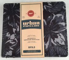 Mens Urban Pipeline Bifold Wallet Nwt Floral