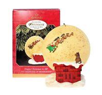 Hallmark Keepsake Ornament 1997 Happy Christmas to All!~New in Box