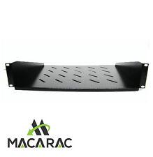 "2U-350mm Deep Cantilever Shelf 19"" Inch Rack Mount Application)  TWIN PACK"
