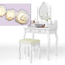 toilette trucco sgabello tavolo trucco toletta toeletta specchio Lady Rose