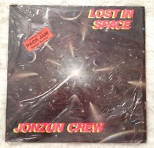 JONZUN CREW Lost in Space LP WHITE VINYL Tommy Boy TBLP 1001 Hip-Hop Record RARE