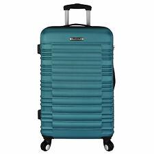 "Elite Luggage Tustin 26"" Hardside Checked Combination Lock Spinner Luggage"