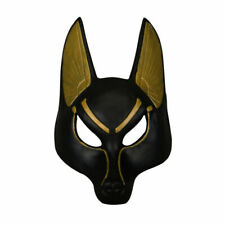 Egyptian Anubis Mask Cosplay Wolf Masquerade Thick Mask Halloween Party Props