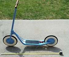 vintage steelcraft toy pressed steel large scooter made in USA antique rare toy