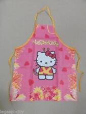 Original Hello KittyMalkittel/Malschürze rosa/Druck für Kinder Größe M 5-8 Jahre