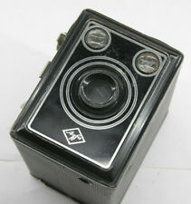 Agfa Box 120 B-2 Film Camera Shutter Fires - Scuzzy Viewfinders Vintage E53D