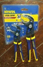 Irwin Vise-Grip GV8 & GV10 GrooveLock Pliers *Anti-Pinch* Item# 2078709