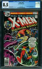 X MEN # 99 US MARVEL 1976 NEW x men Sentinels CGC 8.5 WHITE VFN +