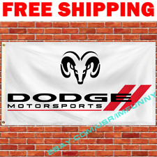 Dodge Challenger Charger Nitro Flag Banner 3x5 ft Racing Car Garage Wall Sign