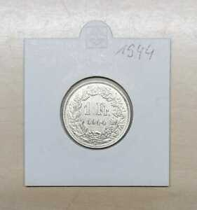 1 Swiss Francs Silver Very Fine (Choice Of Under: 1921 To 1967)