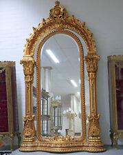Riesiger SPIEGEL ANTIK GOLD ca.248x136cm LUXUS STANDSPIEGEL LOUIS WANDSPIEGEL