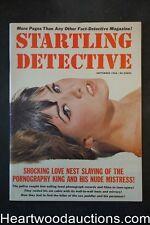 Startling Detective Sep 1966  Sex Murder of the Choir Girl