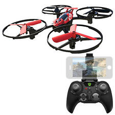 Sky Viper Remote Control Hover Racer Gaming Drone - 2.4 GHz Color Red & Black