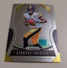 2019 PANINI PRIZM FOOTBALL #352 DIONTAE JOHNSON ROOKIE CARD - STEELERS