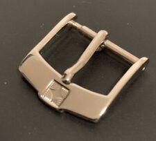 ZENITH 14mm Fibbia Buckle  Stainless Steel Acciaio Inox  NEW genuine originale