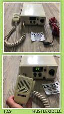 Unimetrics Sea Hawk 24 Marine Radio Box Vhf/Fm w/ Microphone Bracket Power Cable