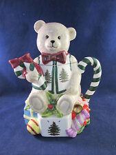 Spode China CHRISTMAS TREE Teddy Bear Teapot