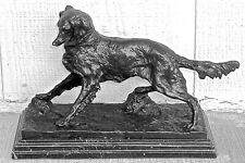 Pierre Jules Mene Signed Bronze of Dog