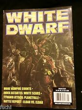 White Dwarf #256 Warhammer Vampire Origins, Tyranids, Space Marine White Scars