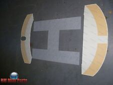 MINI R50 R53 R56 BLACK HELIPORT ROOF DECAL KIT NLA 51140420676