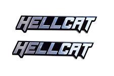 2  Hellcat Emblems For Your Mopar Dodge Charger or Supercharged Challenger 6.2