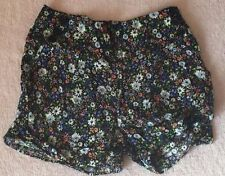 Rayon Hand-wash Only Floral Shorts for Women