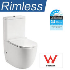 Moro  Hygiene Flush  Back to Wall Toilet Suite with Soft Close