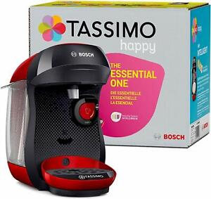 Bosch TAS1002 Tassimo Happy Coffee Maker Pods Brewer 1400 W,
