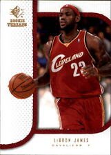 Upper Deck LeBron James Rookie Basketball Trading Cards