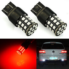 JDM ASTAR 2835 7440 7441 7443 7444 992 T20 W21  LED Turn Signal Light Bulbs Red