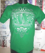 DC SHOES GREEN METAL WORKER GRAPHIC TEE NEW MENS Small, 100% COTTON
