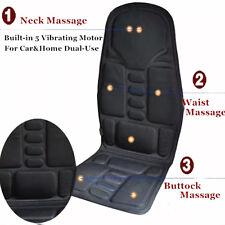 Car Massage Heated Seat/Cushion Neck Pain Lumbar Pad Vibration Massager Spiffy