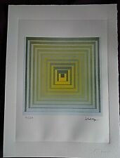 VASARELY  : LITHOGRAPHIE + CERTIFICAT