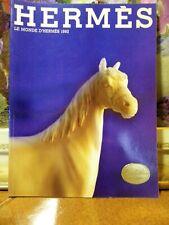1992 LE MONDE D'HERMES BOOK REVUE - FRENCH LANGUAGE - RIVISTA
