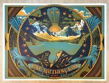 Dave Matthews Band poster Harvey's Outdoor Arena Lake Tahoe Stateline, Nv 9/9/15