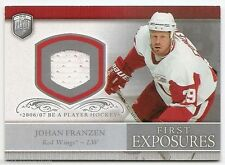06/07 BE A PLAYER PORTRAITS FIRST EXPOSURES JERSEY Johan Franzen #FEJF