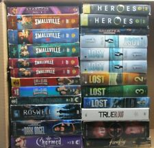 Wholesale Lot Of 24 Assorted Seasons (  Sci-Fi & Fantasy ) T.V. Shows DVDs