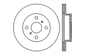 Frt Disc Brake Rotor Centric Parts 121.44052