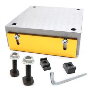 150x150mm Elektrische Magnetspannplatte Magnetfutter Permanente Schleifmaschine
