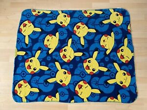 Northwest Company Pokemon Pikachu Pokeball Pattern Fleece Throw Blanket