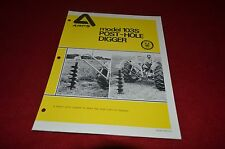 ARPS 103S Post Hole Digger Dealers Brochure YABE11