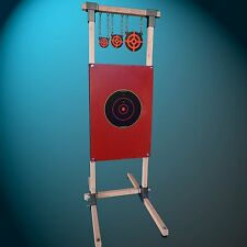Custom Rifle/Pistol Target Stand with AR500 Steel Gongs