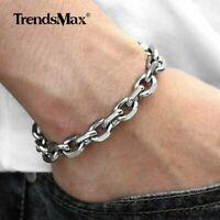 2//3//4//6//10mm Silver Stainless Steel Cable Rolo Necklace Chain Unisex Mens Womens