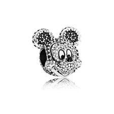 Disney Limited Edition Sparkling Mickey's Portrait Charm - PANDORA (791795NCK)